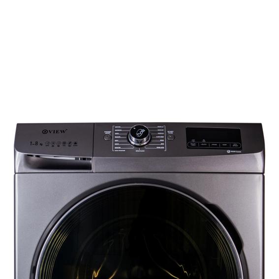 VIEW® Washing Machine 8kg Silver model: 21-1
